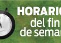 HORARIOS - TORNEO