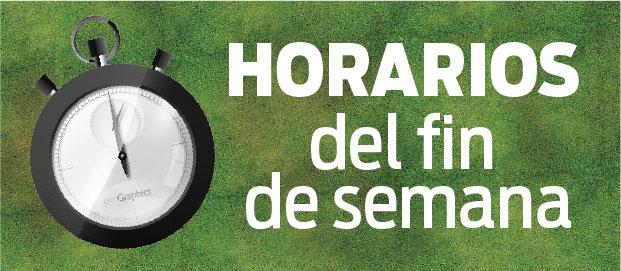 HORARIOS – Libres, Senior y Serranas