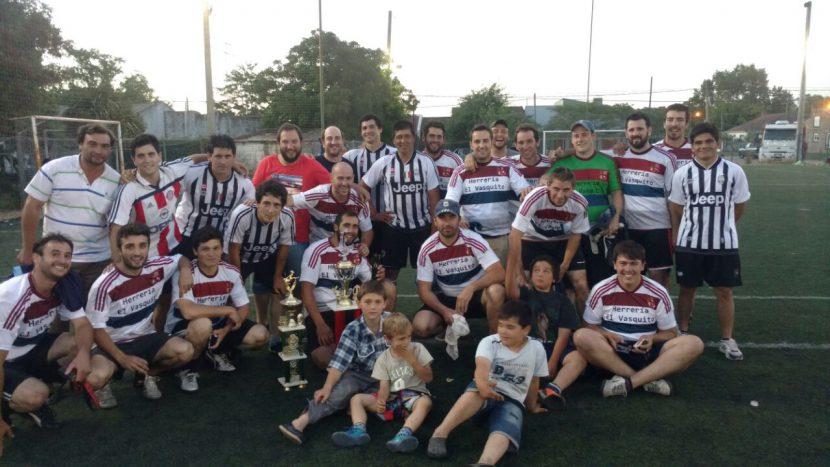 Rústicos F.C. 4 – 3 Montecaido – Final Clausura 2016
