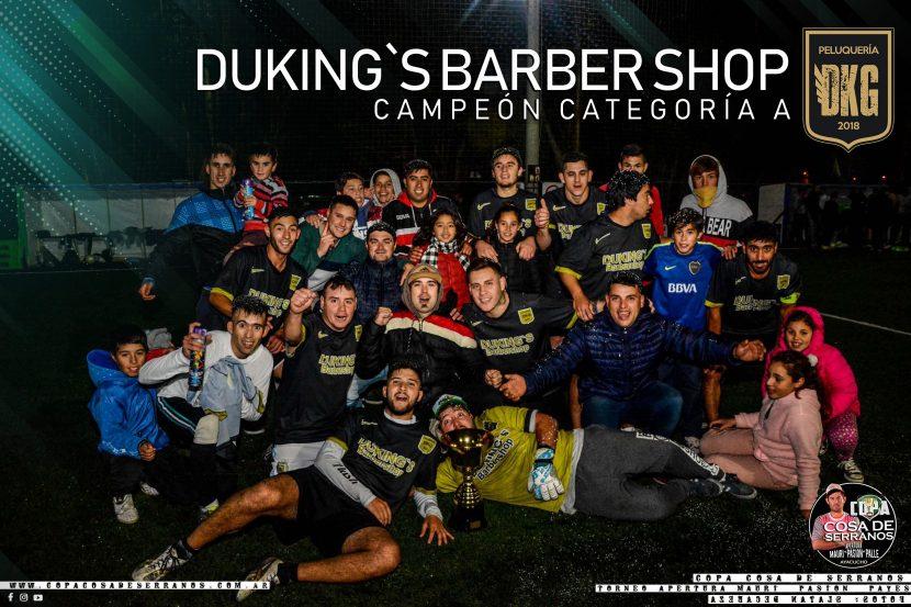 LOS SUEÑOS SE CUMPLEN, DUKING´S BARBER SHOP CAMPEÓN