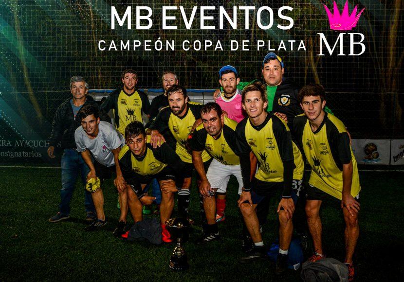 MB EVENTOS CAMPEÓN DE PLATA