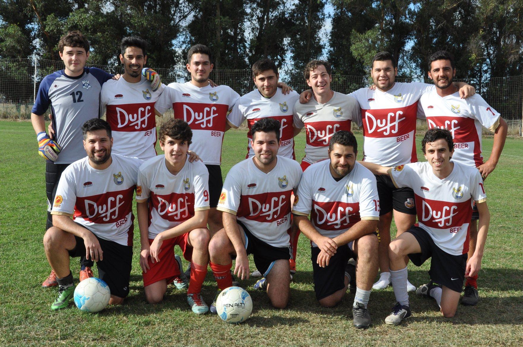 La categoría Libre del Fútbol 11 Serrano estuvo plagada de goleadas